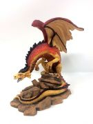 Collectable Midi Desert Dragon Tudor Mint - K090 - Figurine Statue Ornament